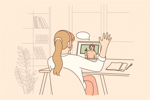 Proffs på onlinemöten en kurs